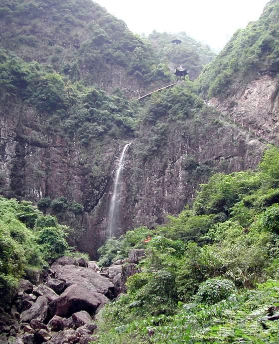 浙江仙居 神仙居风景区 2004年6月摄